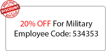 Military Employee Coupon - Locksmith at Niles, IL - Niles Illinois Locksmith