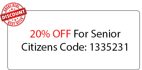 Senior Citizens Coupon - Locksmith at Niles, IL - Niles Illinois Locksmith